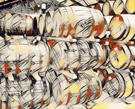 Fusten jenever - opslag van jenever en wiskey